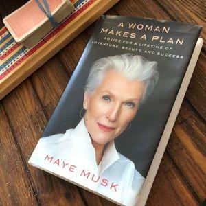 A Woman Makes a Plan - book by Maye Musk